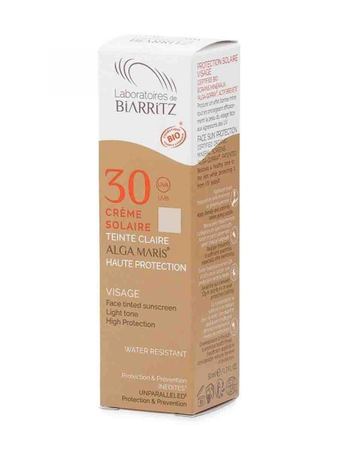 Alga Maris BB Cream Light LSF getoente Sonnencreme ml Laboratoires de Biarritz