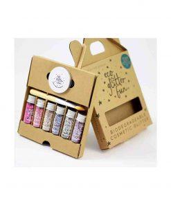 Boxed Pinky Set Bio-Glitter 6 x 3.5g