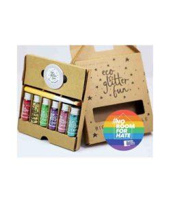 Pride Rainbow Box Bio-Glitter 6 x 3.5g