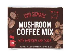 Mushroom Coffee mit Cordyceps & Chana Pilz-Kaffee 10 x 2.5g