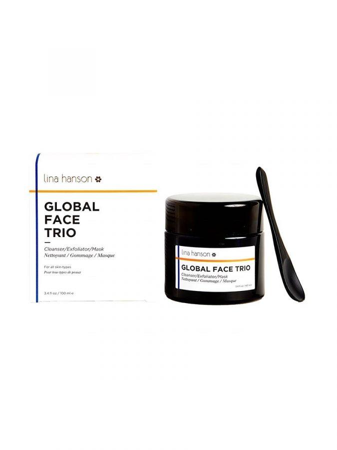 Global Face Trio Peeling Maske & Reinigung 100ml
