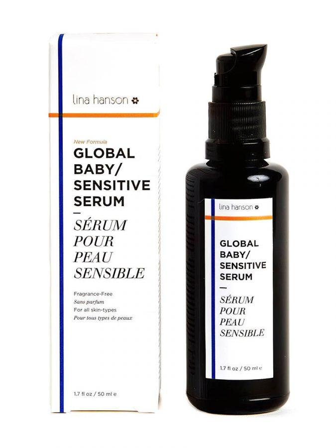 Global Sensitive Serum Ölserum für Gesicht Körper & Babies 50ml