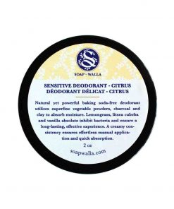 Sensitive Deodorant Cream Citrus 59ml