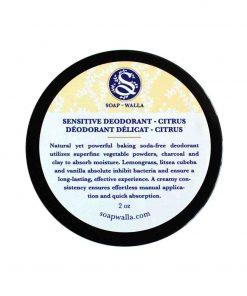 Sensitive Deodorant Cream Citrus 59ml