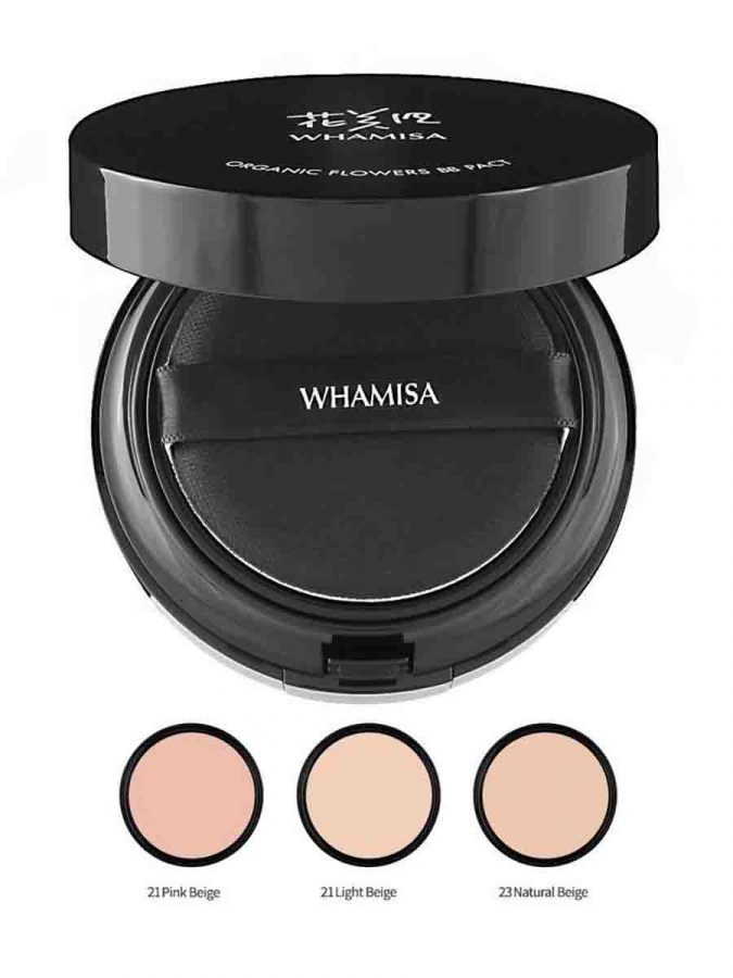 Whamisa BB Pact LSF PA Natural Expression BB Puder Pink Beige g