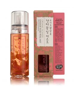 Organic Flowers Damask Rose Petal Mist Toner 80ml