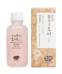 Organic Flowers Deep Rich Toner 120ml