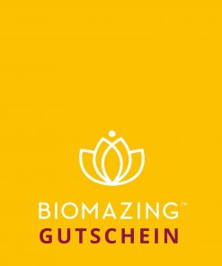 Biomazing Gutschein leeres Template