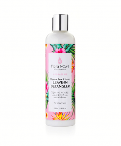 Flora & Curl organic-rose-honey-detangler