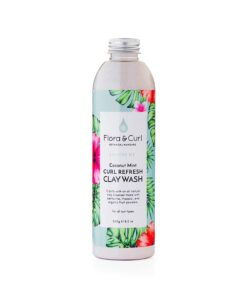 Flora & Curl soothe me curl refresh clay wash 240g