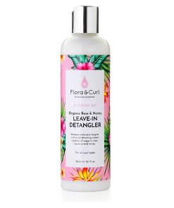 Organic Rose & Honey Milk Detangler 300ml Flora & Curl