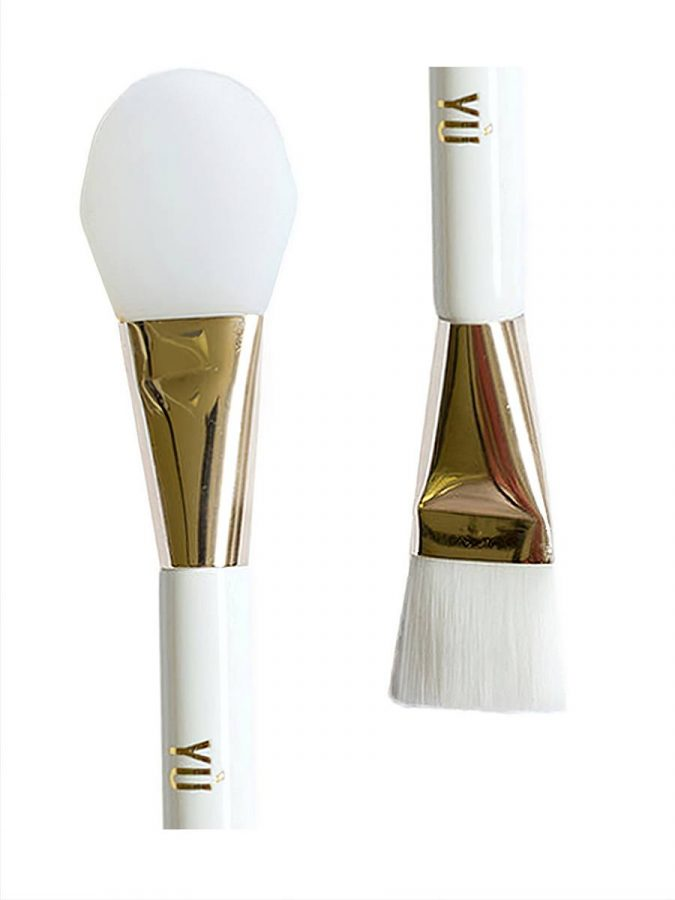 YÙ Beauty YÙ Doppel-Pinsel mit Applikator für Masken beide Enden