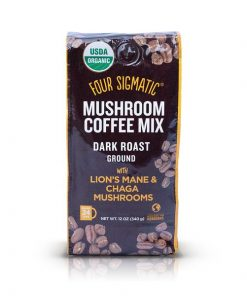 Four Sigmatic Mushroom Ground Coffee Mix mit Lion's Mane & Chaga